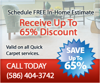 Quick Carpet Specials